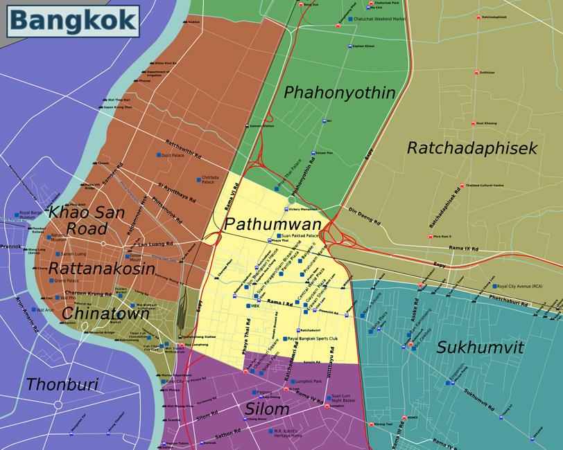 Bangkok Info Guide Accommodation